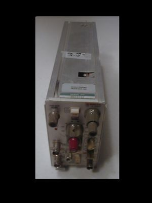 Tektronix AM-502 Differential Amplifier P/I for TM-500 frame,checked OK