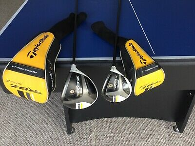 Taylormade Rbz Stage 2 Driver >> Rh Taylormade Rocketballz Rbz Stage 2 Driver And 3 Fairway Wood