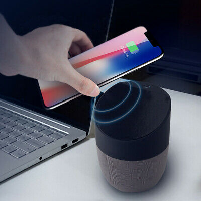 2in1 Bluetooth Speaker + Qi Wireless Charger Charging Hands-Free Talking nt1