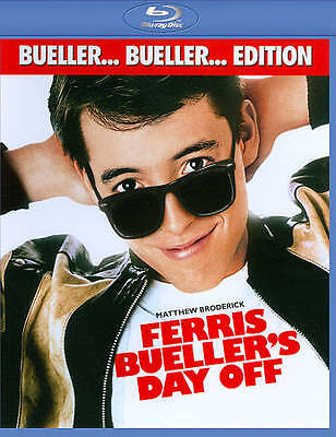 Ferris Bueller's Day Off (Bueller... Bueller... Edition) [Blu-ray], Good DVD, Va