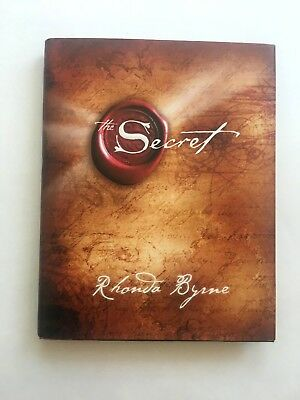 THE SECRET by Rhonda Byrne Hardcover book FREE SHIPPING