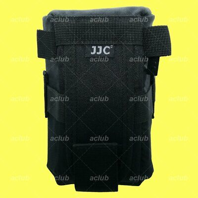 JJC Water Resistant Deluxe Lens Pouch Case 80x150mm For Camera Lens Below 152mm