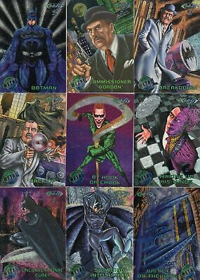 Batman Forever - Complete Card Set (100) 1995 Fleer Metal - NM