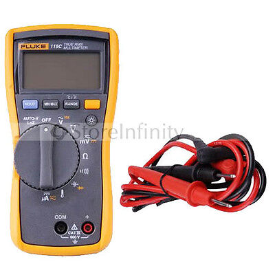 New Fluke 116 116C HVAC Multimeter with Temperature 15B AU post frees shipping
