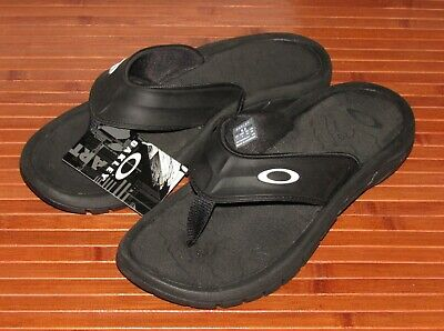 41ec045ed519 Oakley SuperCoil 4.1 Slide Mens Sandals 101720DM-001 NWT No Box Black Size 8