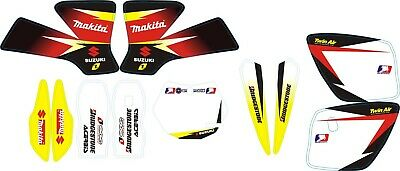 Kit Grafiche Adesivi Mini Cross 50cc Nitro Coyote Italjet Professional lem ktm