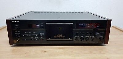 Sony TC-K970ES Black Supreme High-End Stereo Cassette Deck *NEAR MINT CONDITION*
