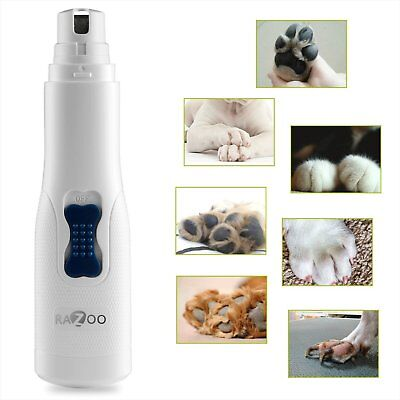 Dog Nail Grinder Clipper Trimmer for Pets Cats Dogs Professional Grooming Tool