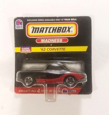 Matchbox Madness 62 Corvette Taco Bell Sealed