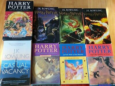 Harry Potter Collection+ Casual Vacancy, J K Rowling Mix Recent & Early Editions