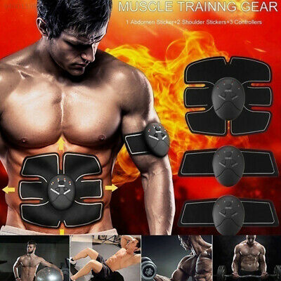 D8B6 Fashion Muscle Trainer Slimming Machine Fit Abdominal ABS Body Tools