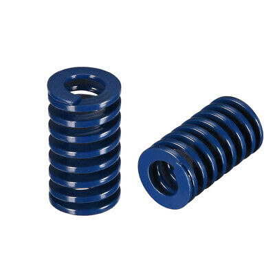 14x 25mm Long Spiral Stamping Light Load Compression Mould Die Spring Blue 5Pcs