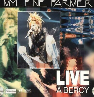Mylene Farmer - Live A Bercy - Spectacle Integral Environ 2H Pal Laserdisc