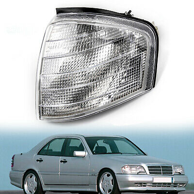 Left Corner Light Turn Signal Lamp Fits Mercedes Benz C Class W202 1994-2000 F
