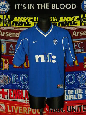 4/5 Rangers adults XL 1999 home football shirt jersey trikot soccer