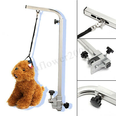 Portable Adjustable Metal Table Arm Support For Pet Dog Grooming Bath Table
