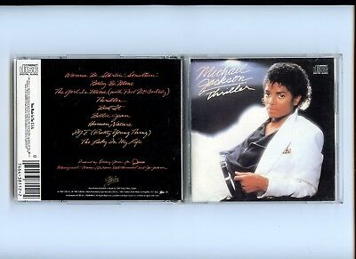 Thriller Michael Jackson CD Epic Japan Denon Nippon Columbia 1985 Rare 1a1
