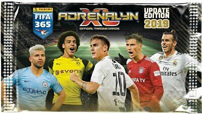 PANINI FIFA 365 ADRENALYN XL 2019 UPDATE EDITION complete set 132 cards + album