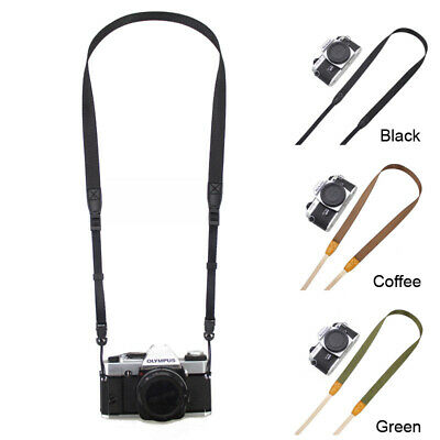 Slim DSLR SLR TLR Camera Neck Shoulder Strap for Canon Sony Nikon Fuji Pentax
