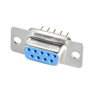 10Pcs//lot DB-9 DB9 male female PCB mount,DR-9S PCB connector,RS232 connectorS/&K