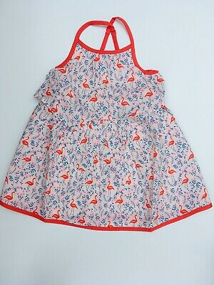 Girls Tie Front Sun Dress Ex Mini Boden  Age 2-14 Years RRP £34