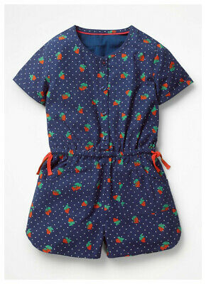 Embroidered Peplum Top Girls Ex Mini Boden Age 5-16 Years  RRP £24