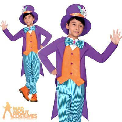 Unisex Fancy Dresses Childrens Wizard Mad Hatter Halloween Fancy Dress Costume Kids Outfit Med 036851 Clothes Shoes Accessories Entrepreneurship Bt