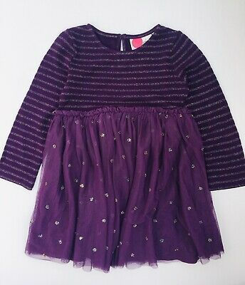 Boden Girls Sparkly Spot Party Dress Ex Mini Boden Age 2-12 Years RRP £30 - £35