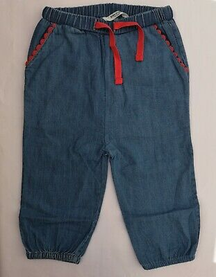 Baby Girls Pull On Trousers Ex Boden Age 6 12 18 24 Months RRP £20