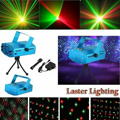 Laser Projector Stage Lights Mini LED R&G Lighting Xmas Party DJ Disco KTV AU