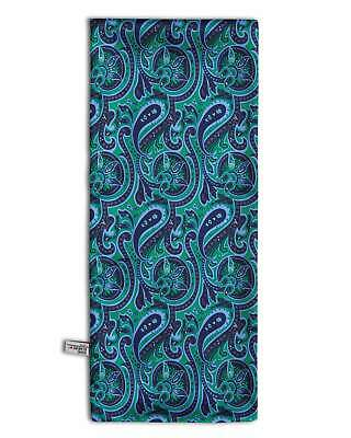 Mens Paisley Scarf with a Gorgeous Burgundy Mod Pattern by Soho Scarves S13