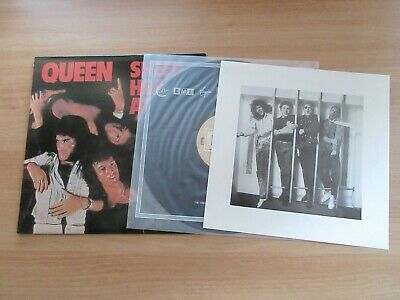 Queen – Sheer Heart Attack Rare Korea Orig LP 1992 4 Pages Insert STRIPED EMI
