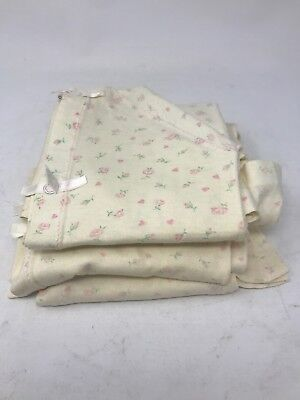 Vintage Carters Layette Sleep Gown Infant Size 6 months Lot of 4 1950s - 1960s