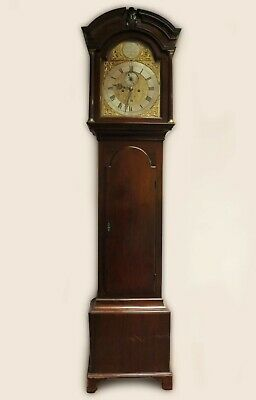 Antique Scottish Grandfather Clock by Charles Lunan of Aberdeen