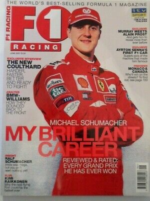 Formula One F1 Racing - June 2001 - Schumacher