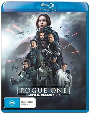 A Rogue One - Star Wars Story Blu-Ray : NEW