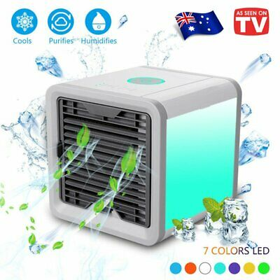 AU NEW Portable Mini Air Conditioner Cool Cooling For Bedroom Arctic Cooler Fan