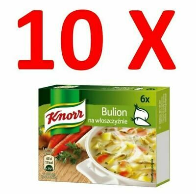 10X Knorr Vegetable Stock Cubes 60g