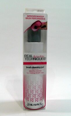 Real Techniques Brush Cleaning Gel 5.1 oz Deep Cleaning Concentrate 150 ml