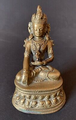 Buddha  Bronze Tibet old bronze Asia india China antiques Nepal