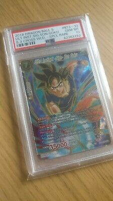 Dragonball Super Card - ULTRA INSTINCT SIGN - SON GOKU SPR - PSA 10 Gem Mint