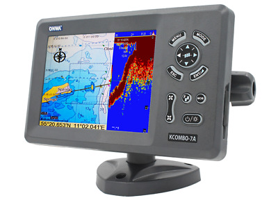 Sondeur FishFinder ChartPlotter GPS - option AIS - Cartographie incluse