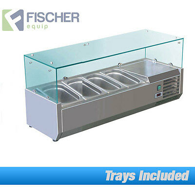 """""""New"""" Countertop Display - Cold Bain Marie Sushi - Embraco Compressor - Vrx1200T"""