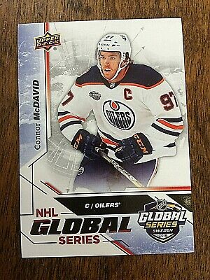 GS-6 CONNOR McDAVID 2019 Upper Deck  Global Series  National Hockey Card Day
