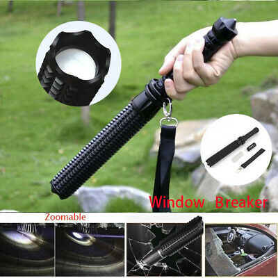 Baseball Bat LED Flashlight Super Bright Torch Emergency Security Tactical Baton