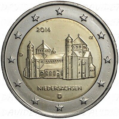 Moneta Da  2 Euro Commemorativa Germania 2014