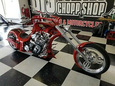 2015 Custom Built Motorcycles Chopper  Limited Edition Chopper, Harley Custom, Factory Title, NADA Listed, We Finance