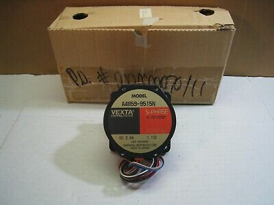 Vexta 5-Phase Stepping Motor A4859-9515N **New In Box**
