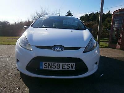 2009/59 Ford Fiesta 1.4 TDCI Base 68 Only 2 Owners Mint Van