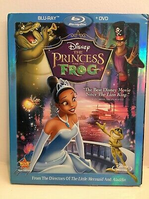 The Princess and the Frog (Blu-ray/DVD, 2011, 2-Disc Set)